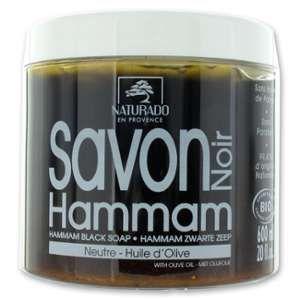 Naturado Savon noir hammam bio 600 grs
