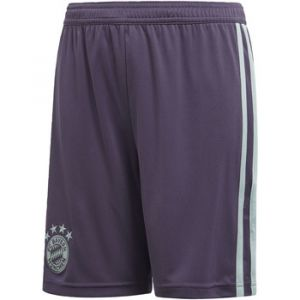 Adidas Fc Bayern Munich Away 18/19 - Trace Purple / Ash Green - Taille 140