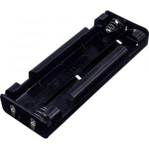 Tru Components BH 261D Support de pile 6 LR14 (C) connexion à souder