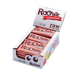 Roo'bar Raw Energy Bar Mulberry And Vanilla 30 G X 20
