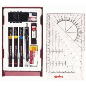 Rotring Coffret 3 stylos techniques Isograph