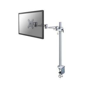 """Newstar FPMA-D935POLE70 - Kit de montage ( bras articulé, fixation par pince pour bureau, poteau, 3 pivots ) pour Écran LCD - argenté(e) - Taille d'écran : 10"""" - 26"""""""