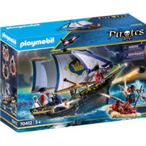 Playmobil 70412 - Chaloupe des soldats