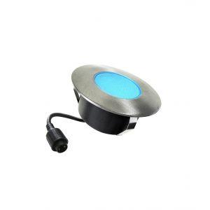 Easy Connect Spot à encastrer DECK- Ø 9,6 cm 3W - Bleu
