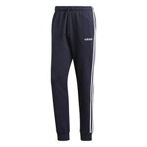 Adidas E 3S T PNT FL Pantalon Homme, Multicolore-Blanc