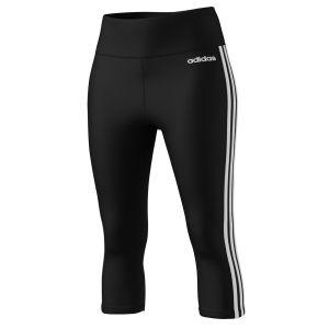 Adidas Design 2 Move High Rise 3 Stripes - Black / White - Taille XXS