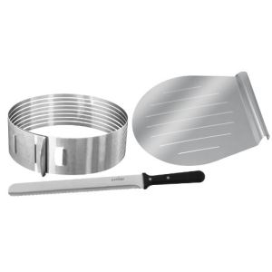 Zenker 2411 - 3 pièces de moule à tarte