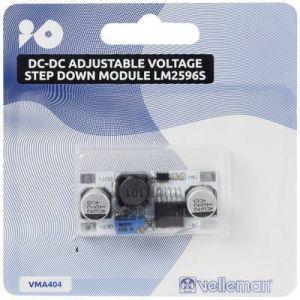 Velleman Module STEP DOWN DC-DC tension réglable LM2596S VMA404 adapté aux cartes Arduino 1 pc(s)