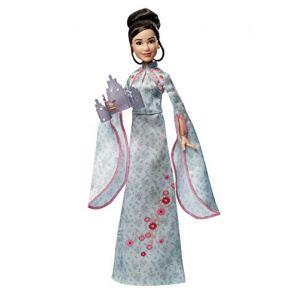 Mattel Harry Potter Poupée Articulée Cho Chang de 25 Cm en Costume Bal de Noël avec son Invitation, à Collectionner, Jouet Enfant, Gfg16