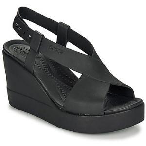 Crocs Sandales BROOKLYN HIGH WEDGE W Noir - Taille 36 / 37,38 / 39,42 / 43,37 / 38,39 / 40,41 / 42