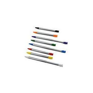 Under Control Stylus x8 Multicolore pour Nintendo 3DS