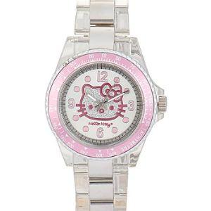 4405901 - Montre pour fille Quartz Analogique Hello Kitty
