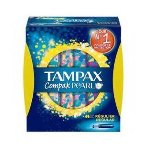 Tampax Compak Pearl Régulier 8 Tampons