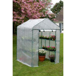 Nortene 5010253 - Serre de jardin Greenseason 4 143 x 143 x 195 cm
