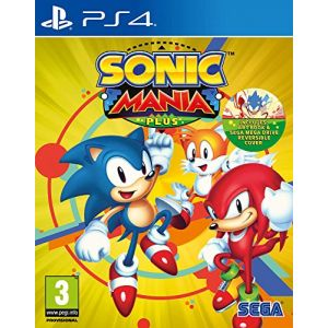 Sonic Mania Plus sur PS4
