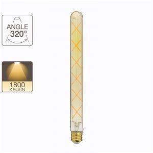 Xanlite Ampoule LED T30 / vintage, culot E27, 5W cons. (40W eq.), lumière blanc chaud