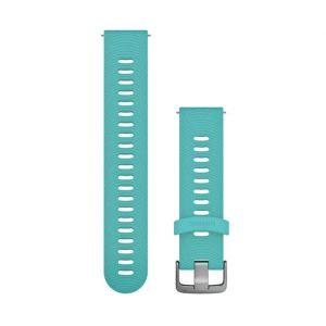 Garmin Bracelet de rechange Forerunner 245 - 20 mm Accessoires montres/ Bracelets Bleu - Taille TU