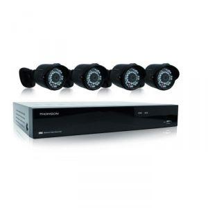 Thomson 512320 - Enregistreur vidéo réseau IP avec 4 caméras