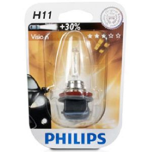 Philips 1 ampoule H11 12V Vision +30pc