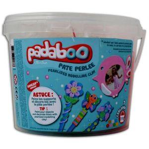 Toga Seau mix de 7 x 110gde pâte a modeler perlée Padaboo