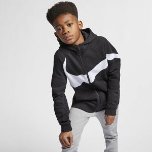 Nike Sweat à capuche Enfant noir