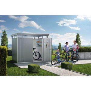 Biohort Highline TH2 modèle 2 portes - Abri de jardin métal 4.33 m² ep.0.53 mm