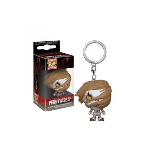 Funko Figurine - Pop - Porte-clés - It - Pennywise With Wig