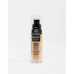 NYX Cosmetics Can't Stop Won't Stop - ond de Teint Liquide Couvrant Tenue 24h - Mocha - 30 ml