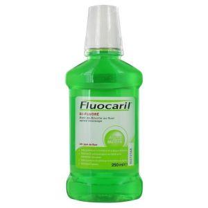 Fluocaril Bi-Fluoré - Bain de bouche au fluor arôme menthe (250 ml)