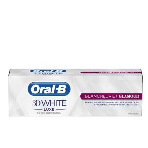 Oral-B Dentifrice 3D White Luxe Blancheur & Glamour 75 ml