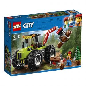 Lego 60181 - City : Great Vehicles Le tracteur forestier