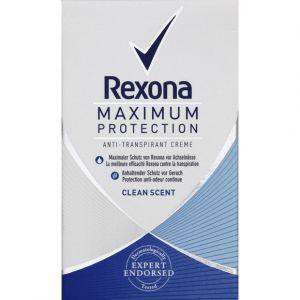 Rexona Women Déodorant Anti-transpirant Max Pro Clean Scent Stick 45ml