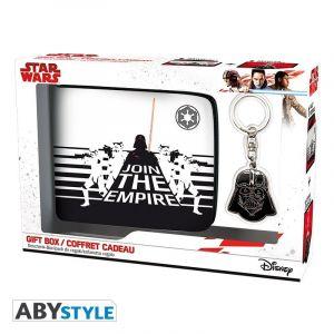 Abysse Corp Coffret - Star Wars - Portefeuille + Porte-clés Dark Vador