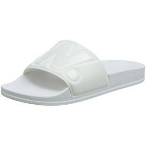 G-Star Raw Cart Slide II, Sandales Bout Ouvert Femme, Blanc (White 110), 41 EU