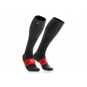 Compressport Chaussettes de compression full socks oxygen noir 35 38