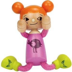 Hape Mini-poupée en bois : Petite fille
