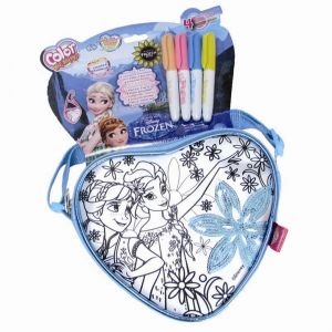 Simba Toys Color me mine : Mini sac coeur La Reine des Neiges