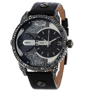 Diesel DZ7328 - Montre pour homme avec bracelet en cuir