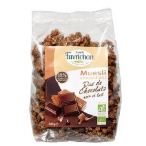 Favrichon Muesli croustillant Duo de chocolats 500g