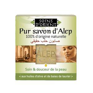 Soins d'orient Pur savon d'Alep 200 gr