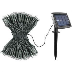Guirlande solaire 300 LED 32m Blanc