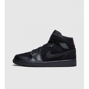 Nike Chaussure Air Jordan 1 Mid pour Homme - Noir - Taille 47