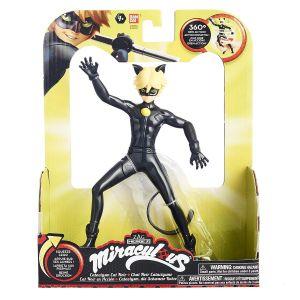 Bandai Miraculous Chat Noir figurine à fonction 19 cm