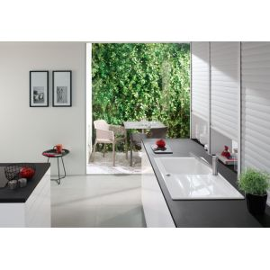 Villeroy & Boch VILLEROY et BOCH Evier Architectura 60 cm noir