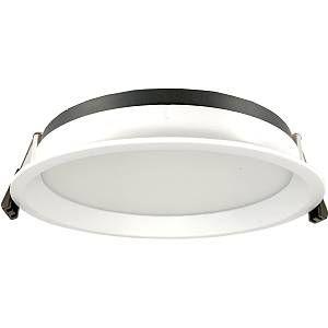 Silamp Downlight Spot LED Rond 22W Ø187mm - couleur eclairage : Blanc Neutre 4000K - 5500K