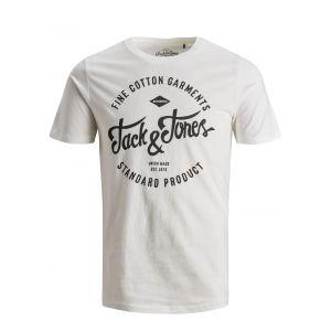 Jack & Jones Printed T-shirt Men White