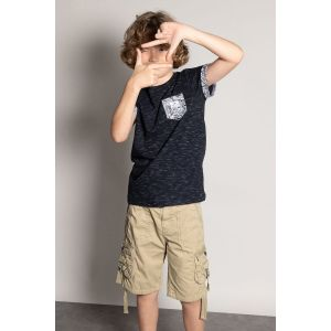 Deeluxe T-shirt enfant SHAMAR - Couleur 10 ans,12 ans,14 ans,16 ans - Taille Bleu