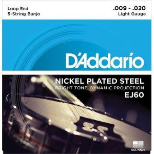 D'Addario Banjo Light J60