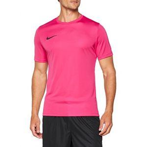 Nike Maillot à Manches Courtes Park VI XXL Rosa (Vivid Pink/Black)