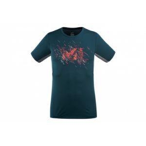 Millet T-shirts Ltk Print Light L Orion Blue - Orion Blue - Taille L